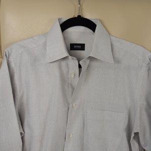 Hugo Boss Long Sleeve Dress Button Down